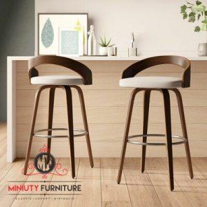 model kursi stool unik terbaru kayu