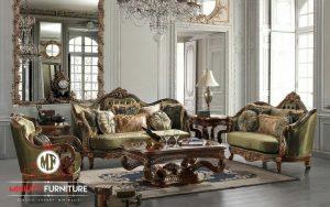 sofa ruang tamu mewah klasik eropa terbaru