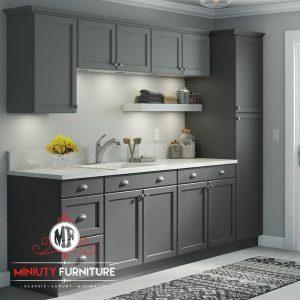 desain kitchen minimalis duco terbaru