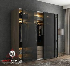 lemari pakaian pintu sleding modern elegant