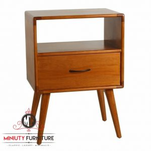 model bed side table simpel laci