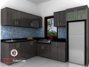 model kitchen minimalis modern jepara