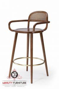 model kursi cafe unik tinggi lengkung