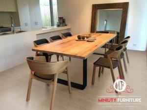 set meja makan minimalis modern terbaru