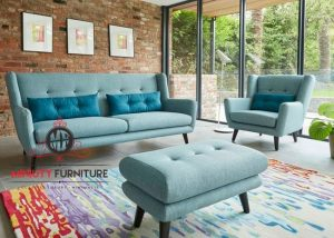 sofa retro ruang keluarga model terbaru modern