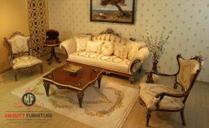 sofa ruang tamu ukiran jepara terbaru