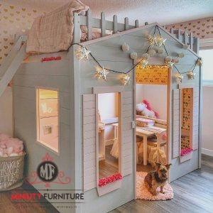tempat tidur anak tingkat model rumah terbaru