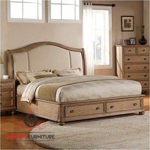 tempat tidur klasik modern kayu jati jepara