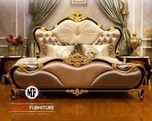 tempat tidur ukir mewah luxury eropa style terbaru