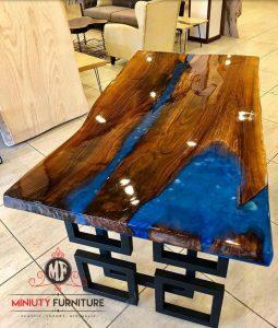 meja makan meja metting resin model terbaru