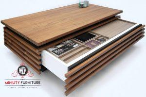 model meja ruang tamu minimalis modern