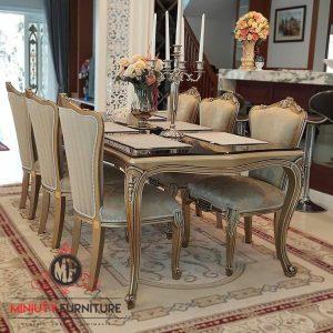 set dining table mewah elegant classic terbaru