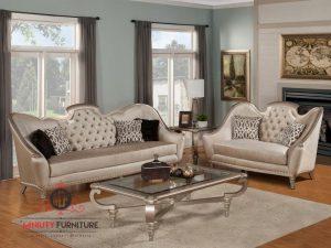 sofa ruang tamu classic modern luxury italia terbaru