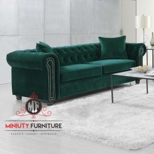 sofa santai cheester ruang keluarga modern