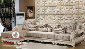 sofa sudut ruang tamu model terbaru