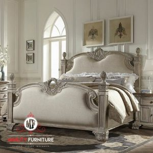 tempat tidur classic modern kayu terbaru