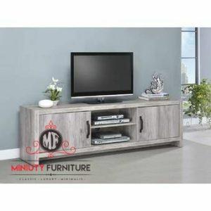 credenza tv minimalis modern HPL