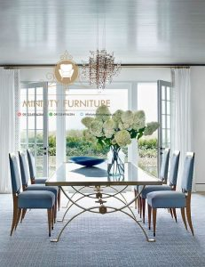 set meja makan luxury style jepara