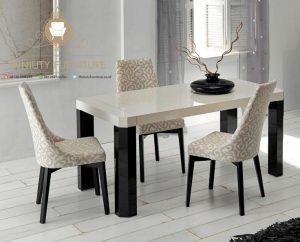 set meja makan minimalis modern