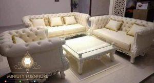 sofa tamu model simple terbaru