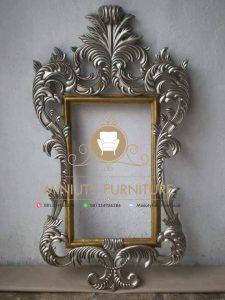 cermin dinding kaca ukiran jepara