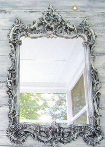 cermin hias dinding ukir klasik