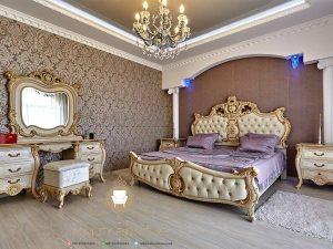 design set kamar tidur klasik model terbaru