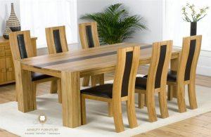 furniture set meja makan blok minimalis model terbaru