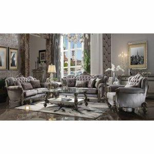 interior furniture set sofa ruang tamu mewah modern