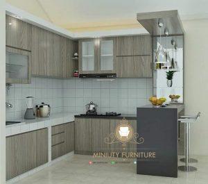 kitchen set minimalis hpl