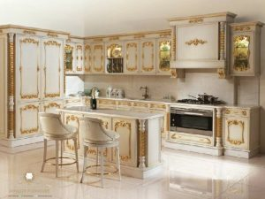 kitchen set ukir klasik mewah turki