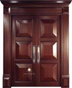 pintu kupu tarung model gapura kayu jati jepara