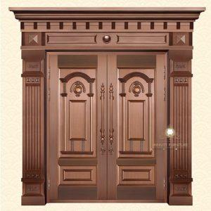 pintu rumah kupu tarung mewah model gapura