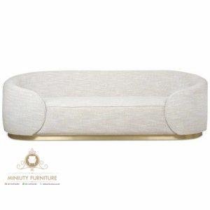 sofa tamu oval