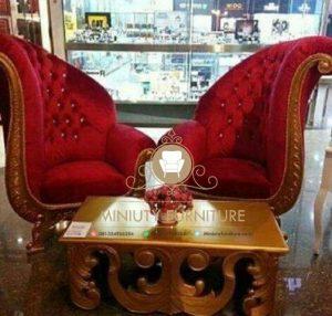 sofa tamu teras model kupu-kupu