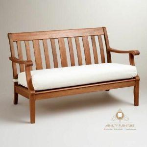 bangku sofa keluarga minimalis kayu jepara
