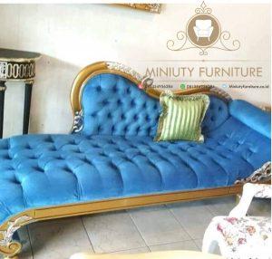 bangku sofa tamu panjang ukir