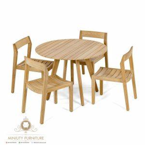 coffe table minimalis kayu jati terbaru