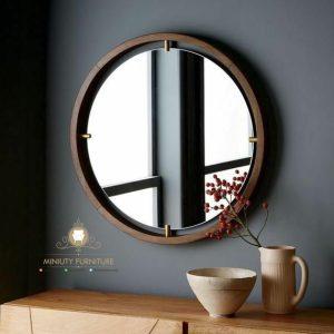 figura cermin dinding bulet terbaru