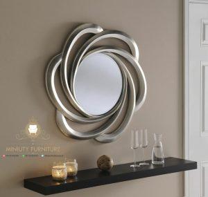 figura cermin dinding lengkung terbaru