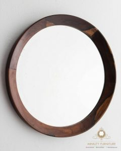 furniture cermin dinding bulet model