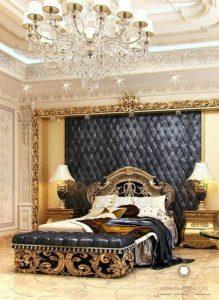kamar set tidur ukir mewah elegant modern
