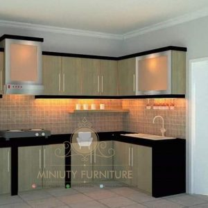 kitchen set hpl minimalis