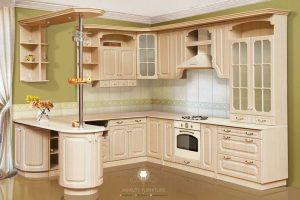 kitchen set kayu jati klasik modern