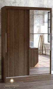 lemari 2 pintu sleding minimalis modern