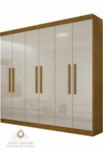 lemari pakaian minimalis modern jepara
