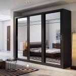 lemari pakaian pintu sleding mewah modern