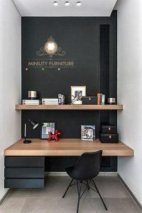 meja belajar anak gantung minimalis modern