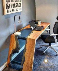 meja kantor mewah modern model terbaru