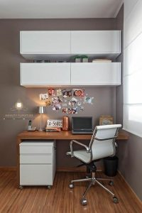 meja kerja minimalis multiplek HPL